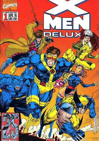 Cover image of X-Men Deluxe #1, color