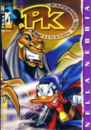 Cover image of PK - Paperinik New Adventures #38, color