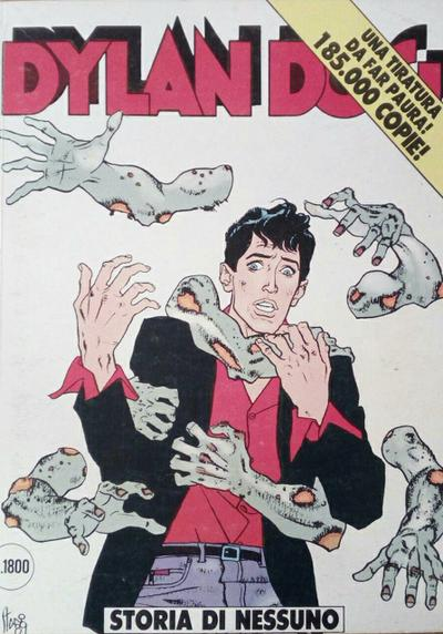 Cover image of Dylan Dog #43, black&white