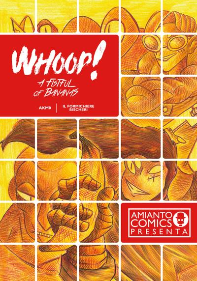 Cover image of Whoop! a fistful of bananas, black&white