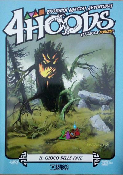 Cover image of 4Hoods #5, color