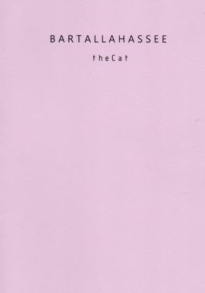 Cover image of The cat - the Moon and the Ark, black&white