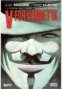 Cover image of V for vendetta, color