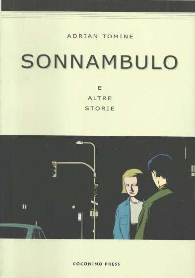 Cover image of Sonnambulo, black&white