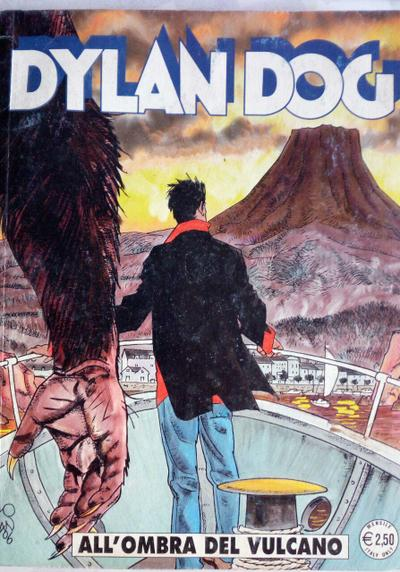 Cover image of Dylan Dog #237, black&white