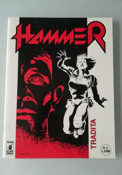 Cover image of Hammer numero Zero - Star Comics 1994, black&white
