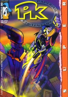 Cover image of PK - Paperinik New Adventures SPECIALE 00, color