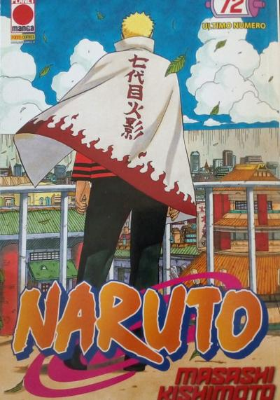 Cover image of Naruto il mito #72, black&white
