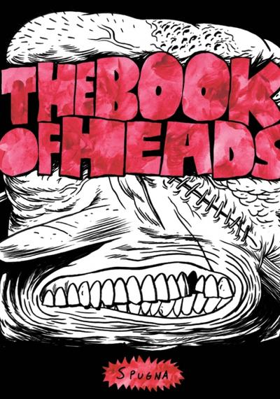 Cover image of The book of heads, black&white