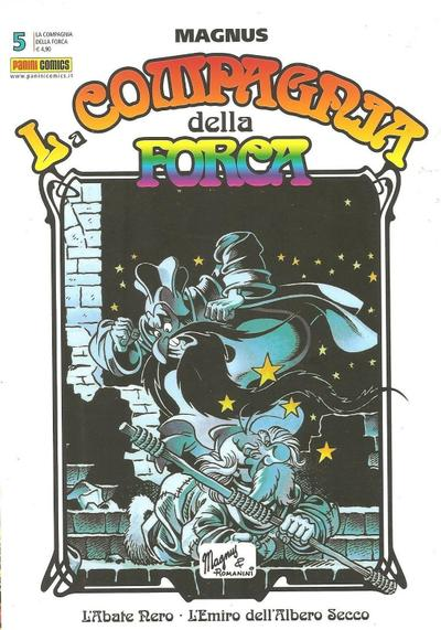 Cover image of La compagnia della Forca 5 (Panini Comics), black&white