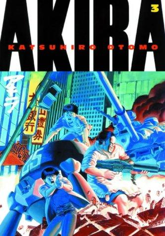 Cover image of Akira, color