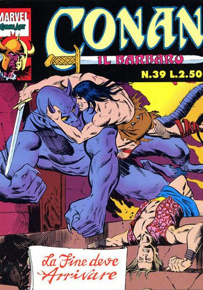 Cover image of Conan il Barbaro #39 (Comic Art), color