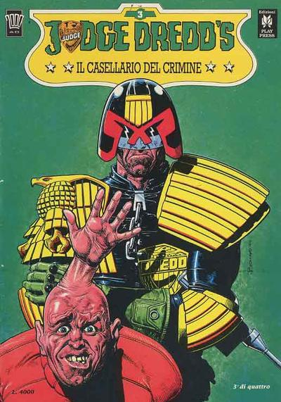 Cover image of Judge Dredd - Il casellario del crimine (3/4), color