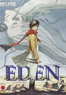 Cover image of Eden - Deluxe Collection #5 (ITA), black&white
