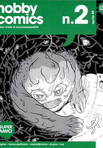 Cover image of Hobby comics #2, black&white