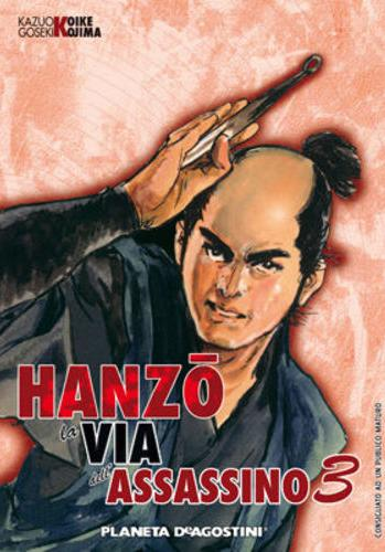 Cover image of Hanzo - La Via dell'Assassino #3, black&white