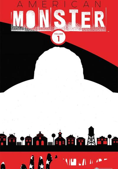 Cover image of American monster #1 - Dolce casa [Ediz. brossurata), color