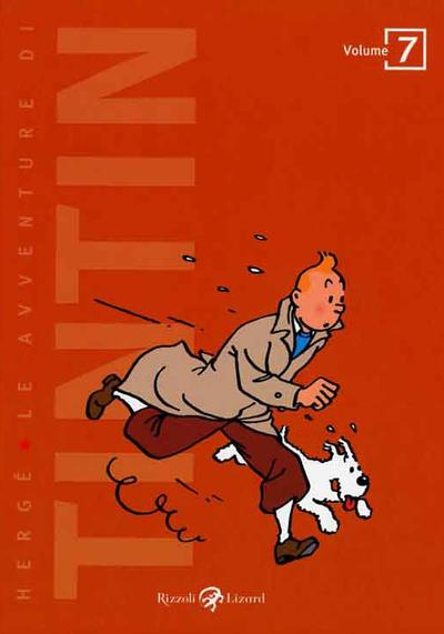 Cover image of Tintin #7 (ITA), color