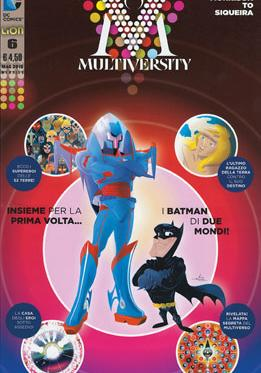Cover image of Multiversity #6 (ITA), color