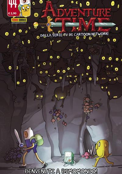 Cover image of Adventure Time #44 (ITA), color