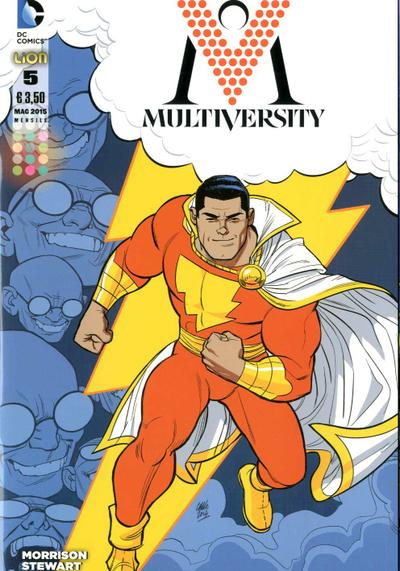 Cover image of Multiversity #5 (ITA), color