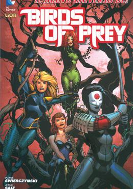 Cover image of Birds of prey #1 (ITA), color