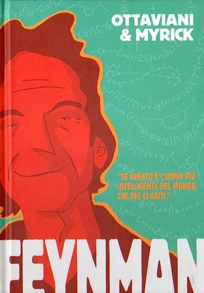 Cover image of Feynman, color