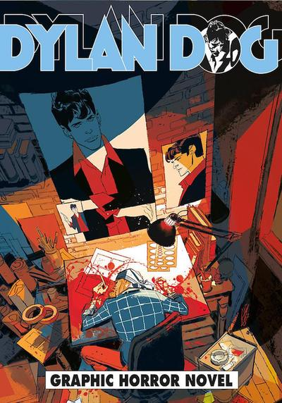 Cover image of Dylan Dog #369, black&white
