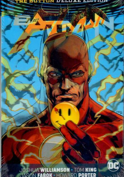 Cover image of Batman/The Flash: The Button Deluxe Edition, color