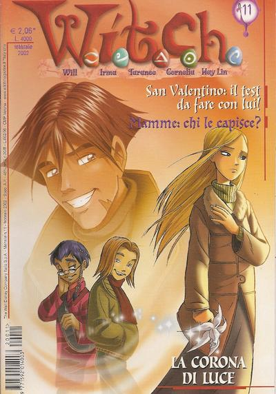 Cover image of W.I.T.C.H #11, color