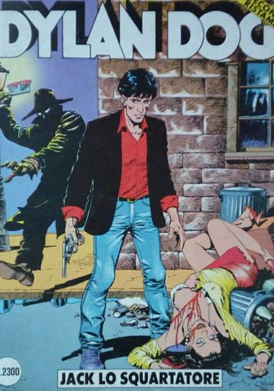 Cover image of Dylan Dog #2, black&white
