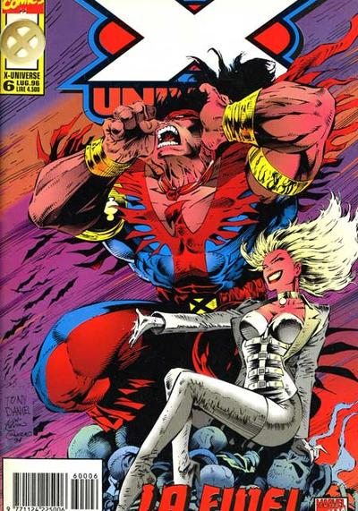 Cover image of X-Universe #6 (ITA), color