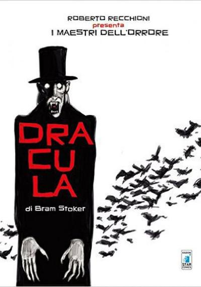 Cover image of Dracula, black&white
