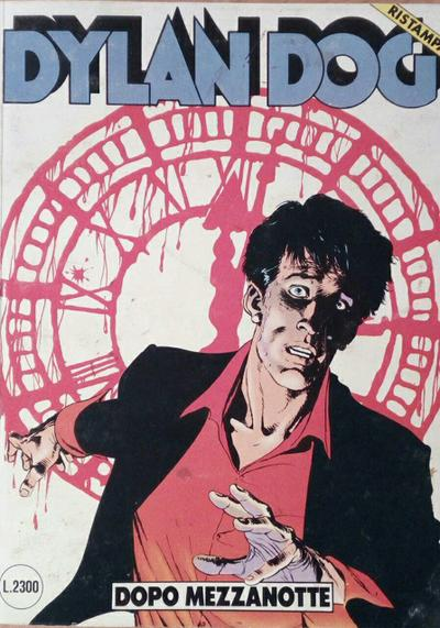Cover image of Dylan Dog #26, black&white