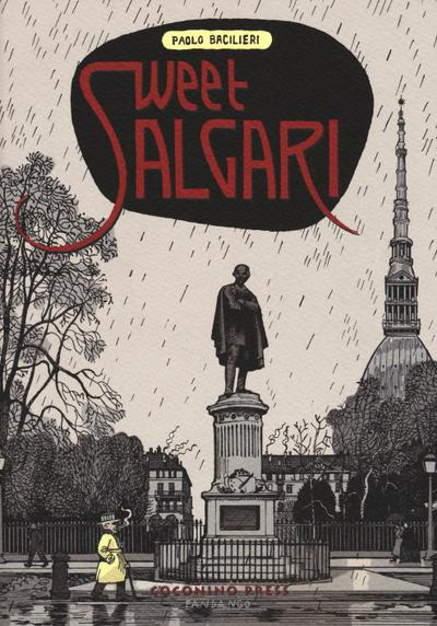Cover image of Sweet Salgari, black&white