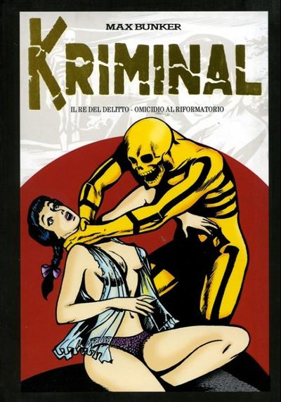 Cover image of Kriminal #1 (Mondadori 2010), black&white