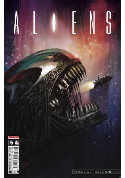 Cover image of Aliens #5, color