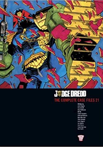 Cover image of Judge Dredd : the complete case files v.21, color