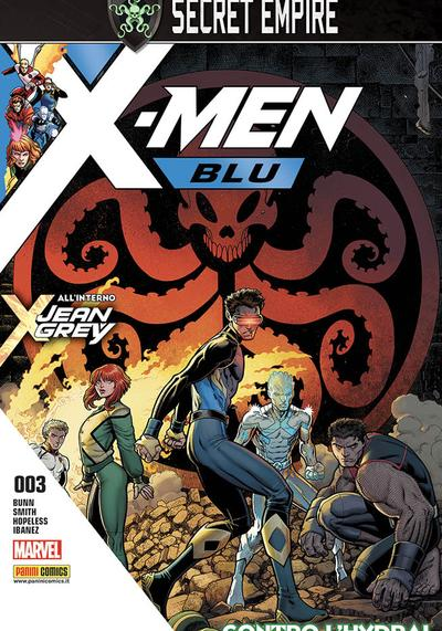 Cover image of X-Men Blu #3, color