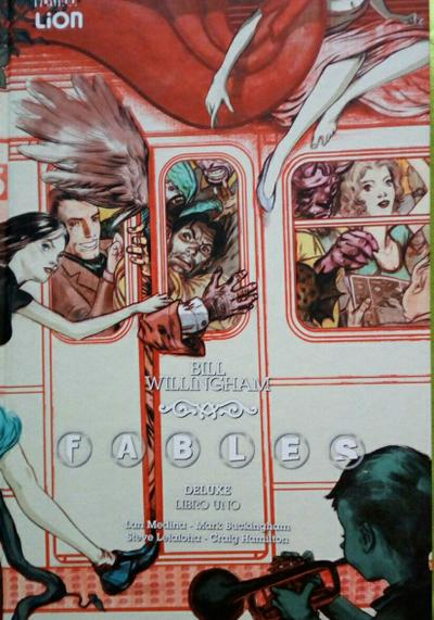 Cover image of Fables deluxe, color