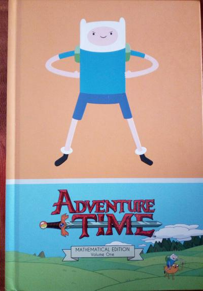 Cover image of Adventure Time - Mathematical Edition Volume One, color
