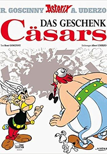 Cover image of Das Geschenk Cäsars, color