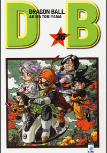 Cover image of Dragon Ball. Evergreen edition: 36, black&white