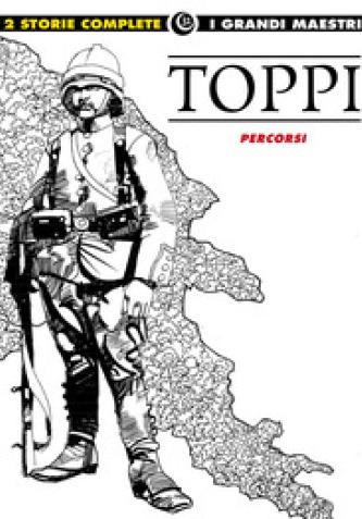 Cover image of Toppi 10 • Percorsi, black&white