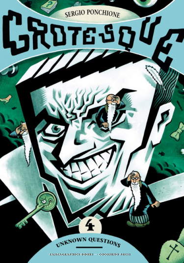 Cover image of Grotesque #4 (ITA), color