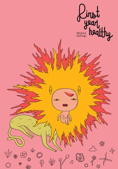 Cover image of First yeah healthy, color