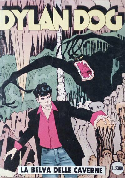 Cover image of Dylan Dog #65, black&white