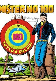Cover image of Mister No n.100, color
