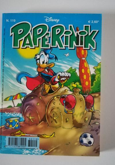 Cover image of Paperinik #119, color