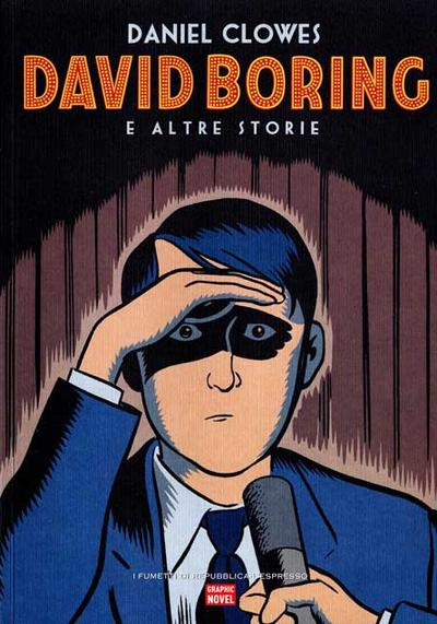 Cover image of David Boring e Altre Storie [Serie Graphic Novel - 2006], other